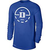 Nike Men's Duke Blue Devils Duke Blue Legend Basketball Key Long Sleeve T-Shirt