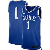 Nike Men's Duke Blue Devils #1 Duke Blue Limited Basketball Jersey