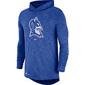 Nike Men's Duke Blue Devils Duke Blue Dri-FIT Slub Long Sleeve Hooded T-Shirt
