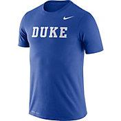 Nike Men's Duke Blue Devils Duke Blue Dri-FIT Legend Word T-Shirt