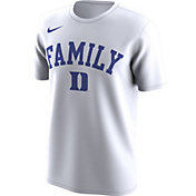 Nike Men's Duke Blue Devils 'Family' Bench White T-Shirt