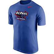 Nike Men's DePaul Blue Demons Royal Blue Logo Dry Legend T-Shirt