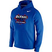 Nike Men's DePaul Blue Demons Royal Blue Club Fleece Pullover Hoodie