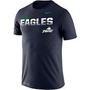 Nike Men's Florida Gulf Coast Eagles Cobalt Blue Legend Football Sideline T-Shirt