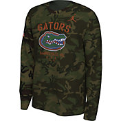 Jordan Men's Florida Gators Camo Veteran Long Sleeve T-Shirt