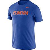 Nike Men's Florida Gators Blue Dri-FIT Legend Word T-Shirt