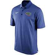 Nike Men's Florida Gators Blue Stadium Striped Polo