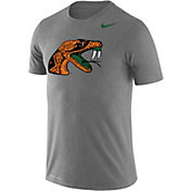 Nike Men's Florida A&M Rattlers Grey Logo Dry Legend T-Shirt