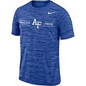 Nike Men's Air Force Falcons Blue Velocity 'Falcon Pride' Football T-Shirt