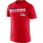Nike Men's Fresno State Bulldogs Cardinal Legend Football Sideline T-Shirt