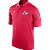 Nike Men's Fresno State Bulldogs Cardinal Varsity Polo