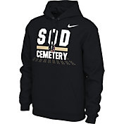 Nike Men's Florida State Seminoles 'Sod Cemetery' Local Pullover Black Hoodie