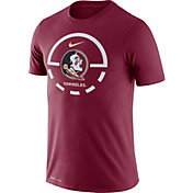 Nike Men's Florida State Seminoles Garnet Legend Basketball Key T-Shirt