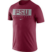 Nike Men's Florida State Seminoles Garnet Basketball Legend Practice T-Shirt