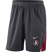 Nike Men's Florida State Seminoles Grey Franchise Shorts