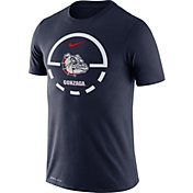 Nike Men's Gonzaga Bulldogs Blue Legend Basketball Key T-Shirt