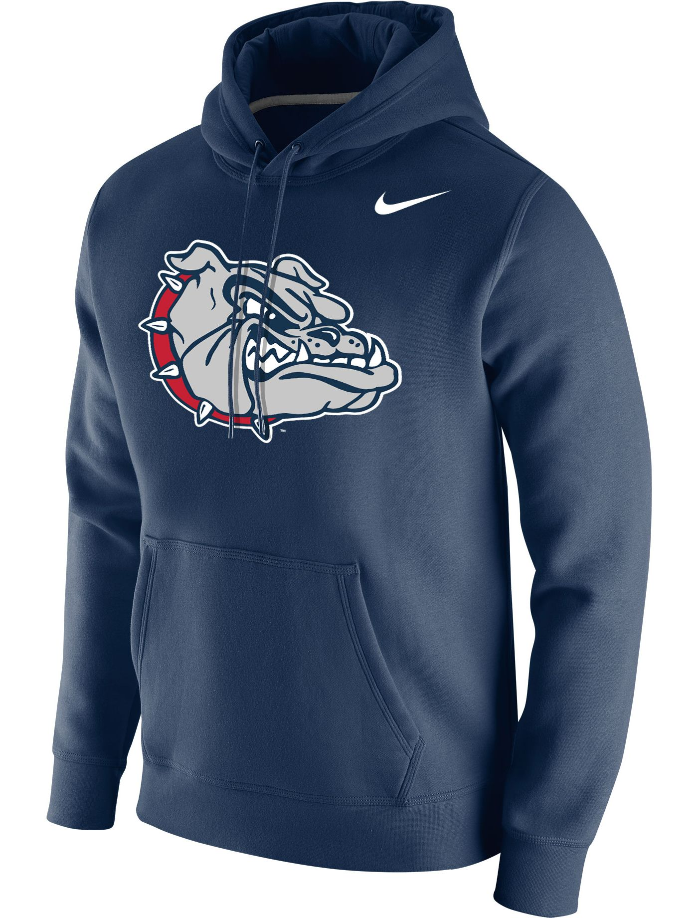 Nike Men's Gonzaga Bulldogs Blue Club Fleece Pullover Hoodie