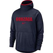 Nike Men's Gonzaga Bulldogs Blue Spotlight Pullover Basketball Hoodie
