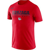Nike Men's Gonzaga Bulldogs Red Dri-FIT Practice Basketball T-Shirt