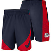 Nike Men's Gonzaga Bulldogs Blue Basketball Dry HBR Shorts