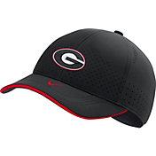 Nike Men's Georgia Bulldogs AeroBill Classic99 Football Sideline Black Hat
