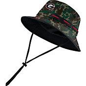 Nike Men's Georgia Bulldogs Camo Dri-FIT Sideline Bucket Hat