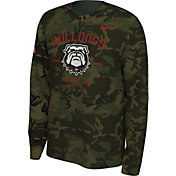 Nike Men's Georgia Bulldogs Camo Veteran Long Sleeve T-Shirt