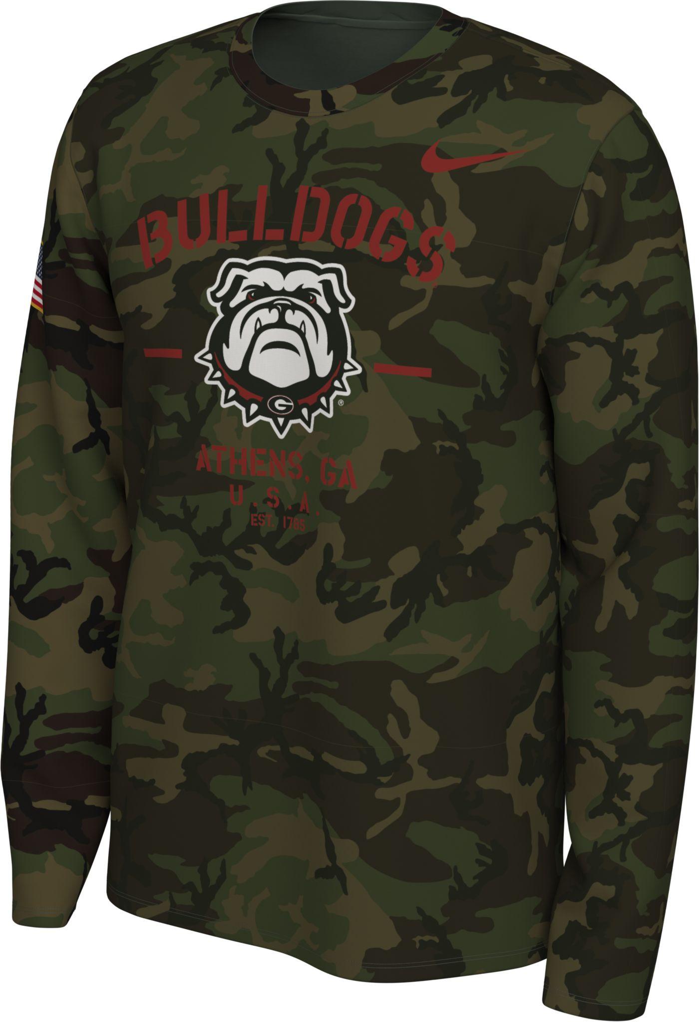 Nike Men's Georgia Bulldogs Camo Veteran Long Sleeve T-Shirt