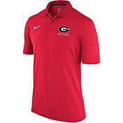 Nike Men's Georgia Bulldogs Red Dry Lightweight Polo