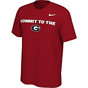 Nike Men's Georgia Bulldogs Red Mantra T-Shirt