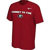 Nike Men's Georgia Bulldogs Red Mantra T-Shirt