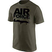 Nike Men's United States Air Force Green Fighter Jet T-Shirt