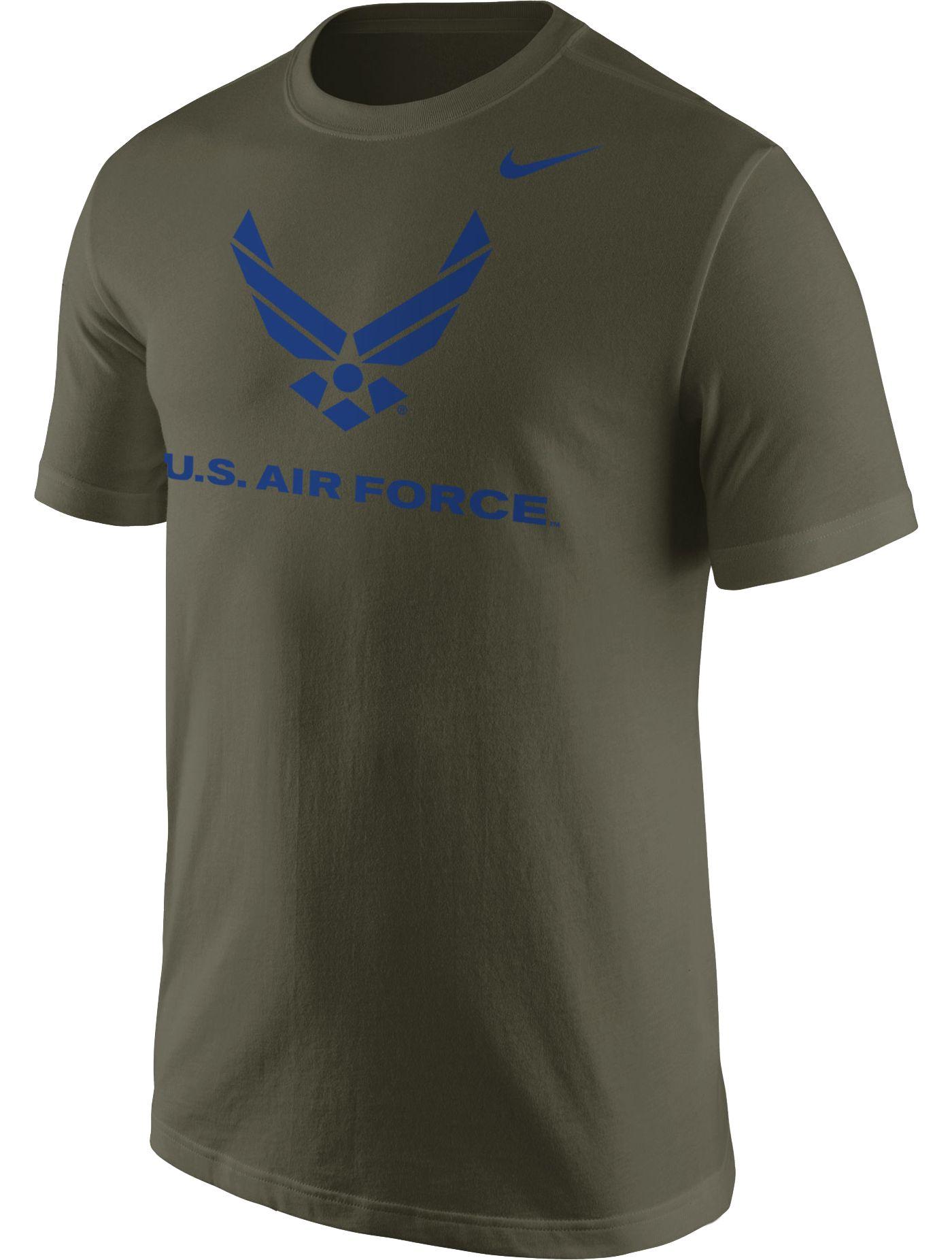Nike Men's United States Air Force Green Logo T-Shirt