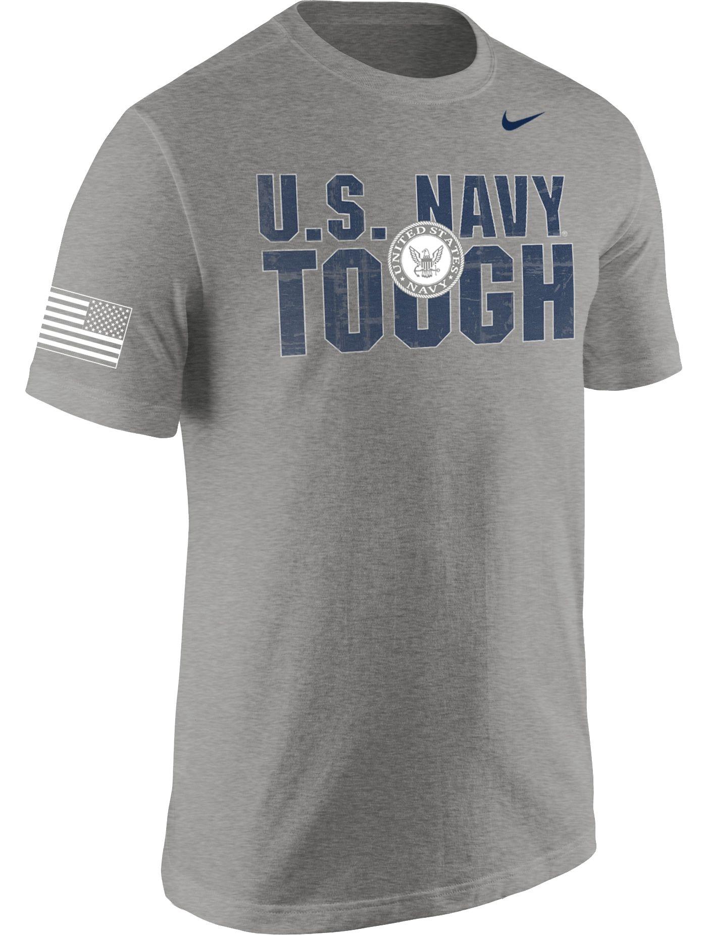 Nike Men's United States Navy Grey Tough T-Shirt