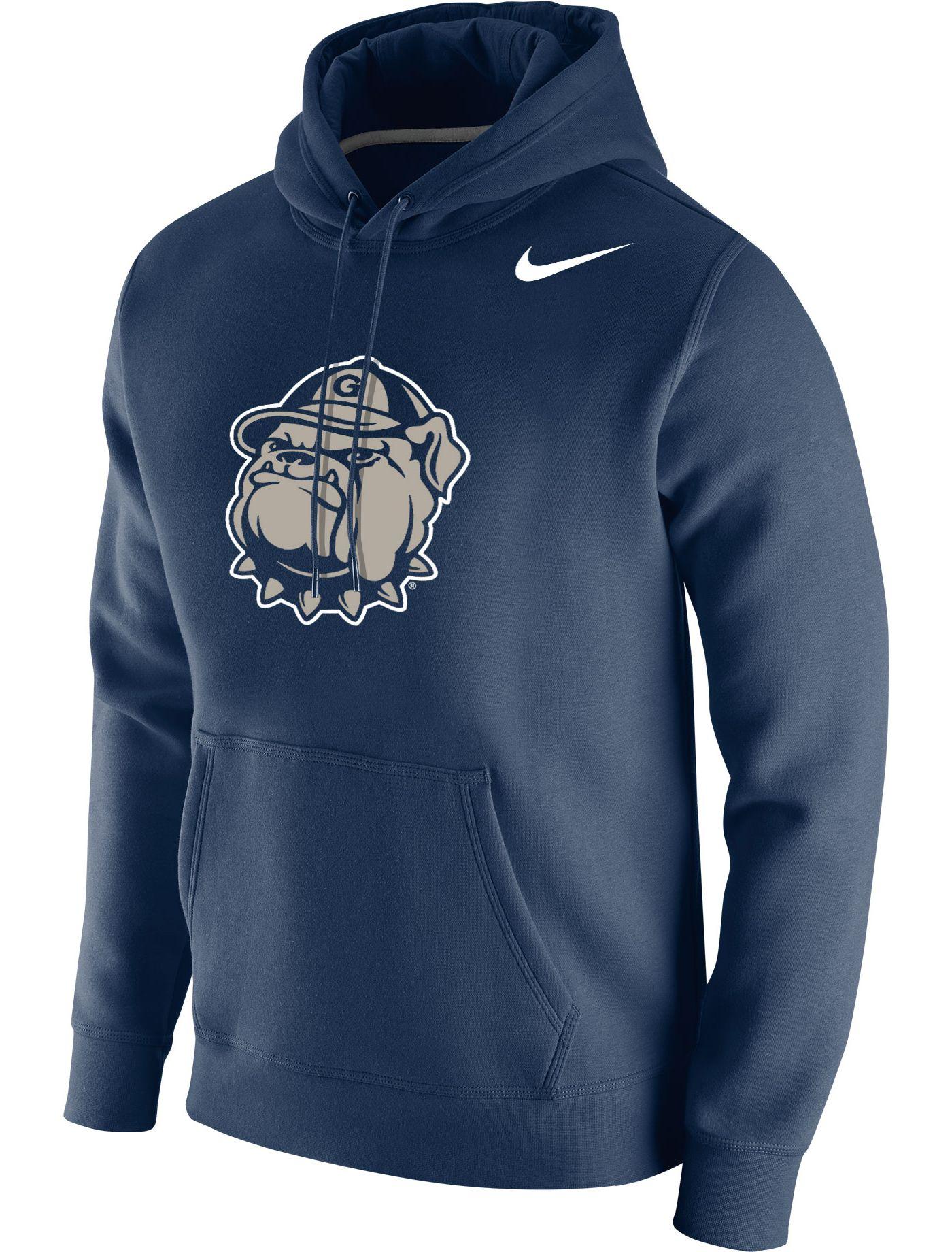 Nike Men's Georgetown Hoyas Blue Club Fleece Pullover Hoodie