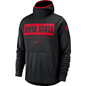 Nike Men's Ohio State Buckeyes Spotlight Pullover Basketball Black Hoodie