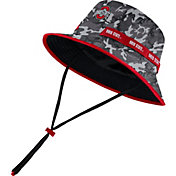 Nike Men's Ohio State Buckeyes Camo Dri-FIT Sideline Bucket Hat