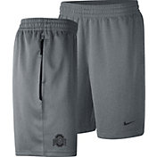 Nike Men's Ohio State Buckeyes Gray Dri-FIT Spotlight Basketball Shorts