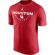 Jordan Men's Houston Cougars Red Dri-FIT Basketball T-Shirt