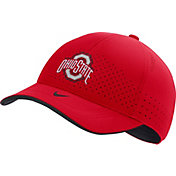 Nike Men's Ohio State Buckeyes Scarlet AeroBill Classic99 Football Sideline Hat