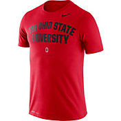 Nike Men's Ohio State Buckeyes Scarlet Dri-FIT 'The Ohio State University' T-Shirt