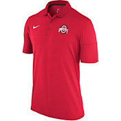 Nike Men's Ohio State Buckeyes Scarlet Dry Lightweight Polo
