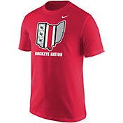 Nike Men's Ohio State Buckeyes Scarlet Student Body T-Shirt