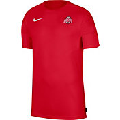 Nike Men's Ohio State Buckeyes Scarlet Top Coach UV T-Shirt