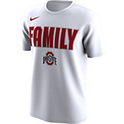 Nike Men's Ohio State Buckeyes 'Family' Bench White T-Shirt