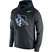 Nike Men's Johns Hopkins Blue Jays Club Fleece Pullover Black Hoodie