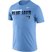 Nike Men's Johns Hopkins Blue Jays Columbia Blue Legend Football Sideline T-Shirt