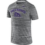 Nike Men's James Madison Dukes Grey Velocity Legend T-Shirt
