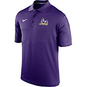 Nike Men's James Madison Dukes Purple Varsity Polo