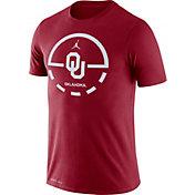 Jordan Men's Oklahoma Sooners Crimson Legend Basketball Key T-Shirt